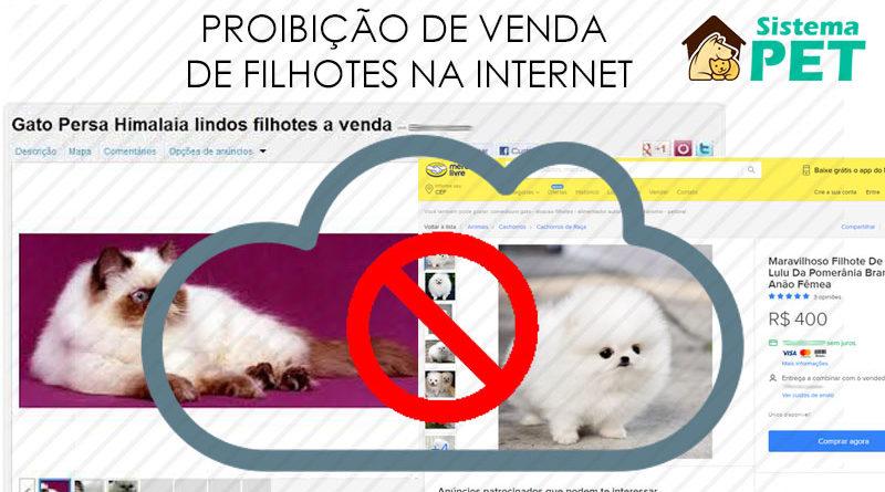 Proibição de Venda de Filhotes pela Internet